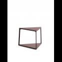 EIFFEL príručný stolík, dark brick