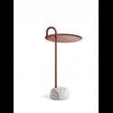 BOWLER stolík, tile red