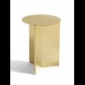 SLIT Table High Brass Polished konferenčný stolík