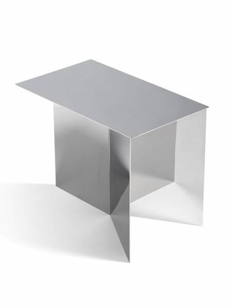 SLIT Table Oblong Polished Mirror konferenčný stolík