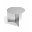 SLIT Round Table Mirror Polished konferenčný stolík