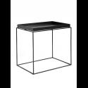 TRAY TABLE stolík L, black