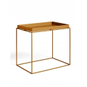 TRAY TABLE stolík L, toffee