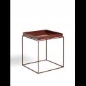 TRAY TABLE stolík M, chocolate high gloss
