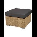 CHESTER konferenčný stolík/podnožka, NATURAL, čierny vankúš