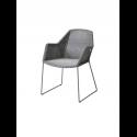 BREEZE jedálenská stolička, light grey