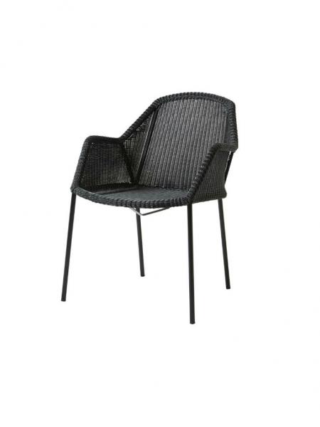BREEZE jedálenská stolička stohovateľná