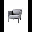 CONIC kreslo, light grey