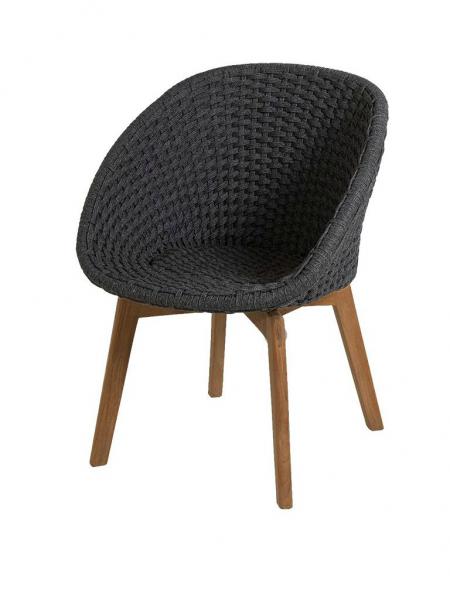 PEACOCK jedálenská stolička