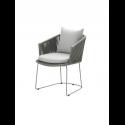 MOMENTS stolička, grey, so sedákom
