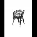 BLEND jedálenská stolička, lava grey