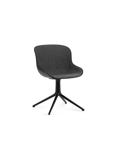 Hyg Chair Front Upholstery Swivel stolička - čalúnená z vnútra