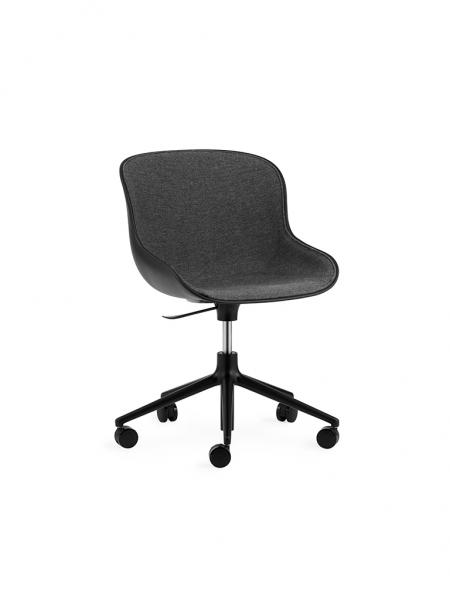 Hyg Chair Swivel 5W Front Upholstery stolička na kolieskach - čalúnená z vnútra
