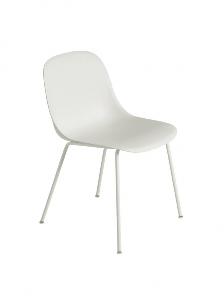 FIBER SIDE CHAIR stolička, kovová podnož