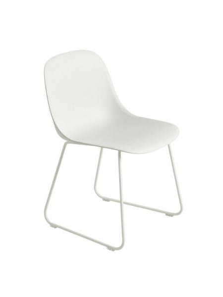 FIBER SIDE CHAIR stolička, lyžinová podnož