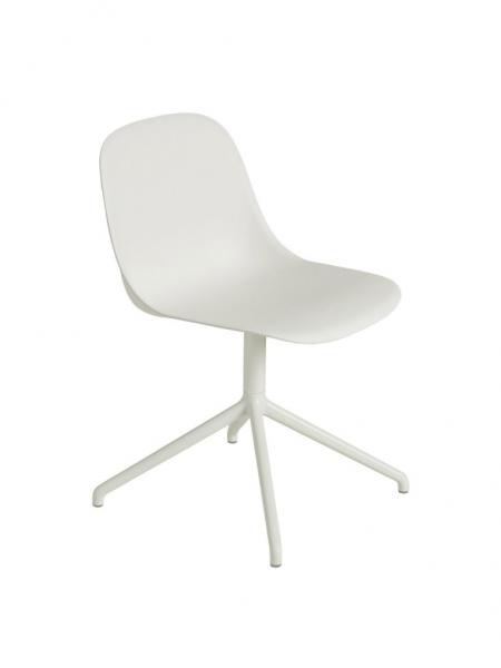 FIBER SIDE CHAIR stolička, otočná podnož