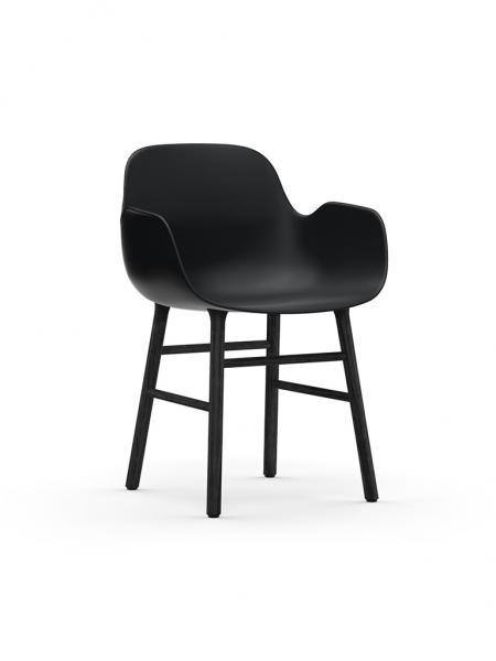 Form Armchair Black stolička