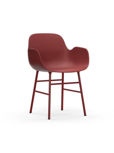 Form Armchair Steel stolička