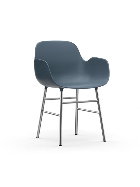 Form Armchair Chrome stolička