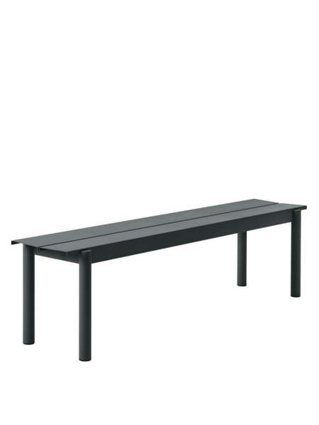 LINEAR STEEL BENCH lavica, 170 cm