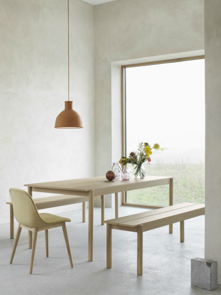 LINEAR WOOD TABLE jedálenský stôl, 140 cm