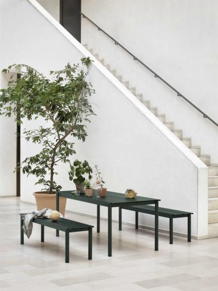 LINEAR STEEL TABLE jedálenský stôl, 200 cm
