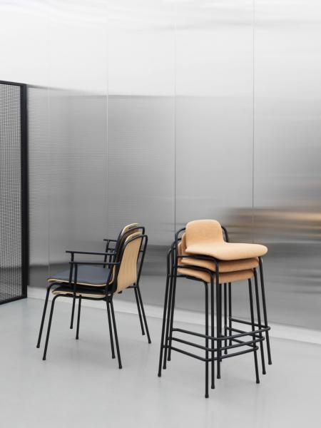 Studio Barstool 65cm barová stolička nízka
