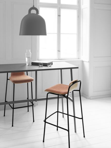 Studio Barstool 75cm Front Upholstery barová stolička s čalúneným sedákom