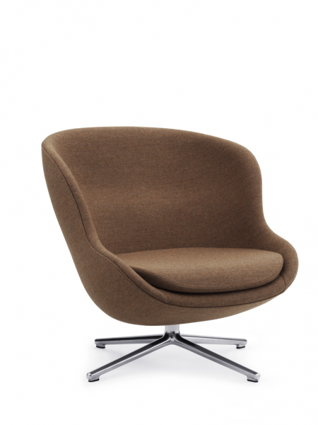 Hyg Lounge Chair Low Swivel kreslo s otočnou podnožou