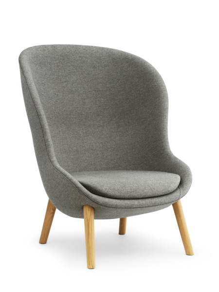 Hyg Lounge Chair High Oak kreslo