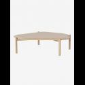 Island Coffee Table white oiled oak