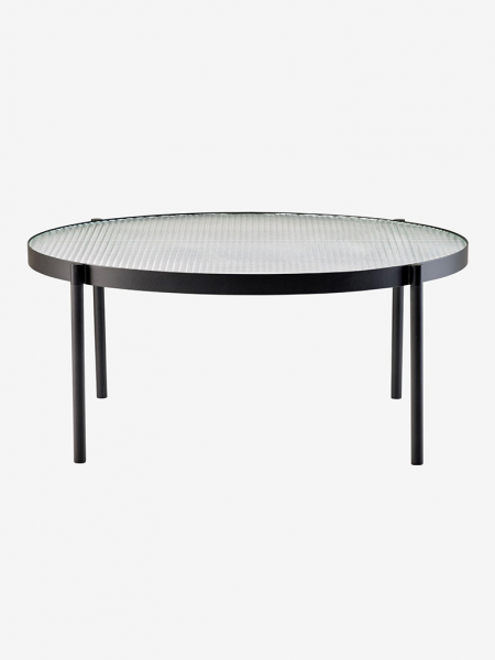 Tab Round Coffee Table High