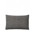 TWINE vankúš, 50 x 80 cm, dark grey
