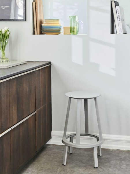 REVOLVER barová stolička, nízka