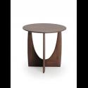 GEOMETRIC príručný stolík, teak