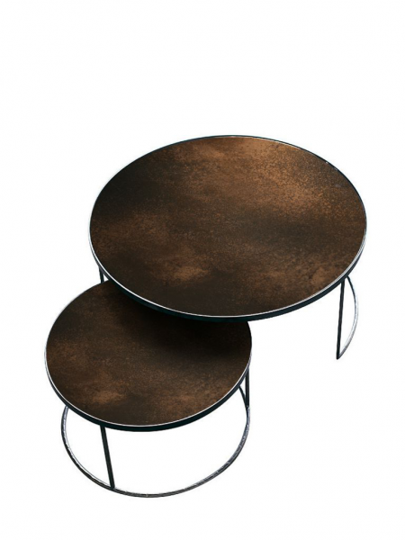 NESTING konferenčný stolík (sada 2 kusov)