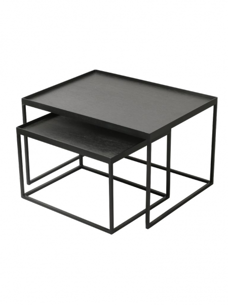 TRAY konferenčný stolík (sada 2 kusov), RECTANGULAR