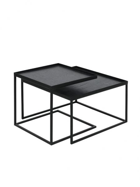 TRAY konferenčný stolík (sada 2 kusov), SQUARE