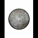 WHITE SLICE wooden tray, S