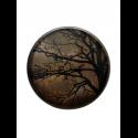 BLACK TREE wooden tray, L