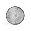 MOROCCAN FROST mirror tray, L