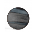 GRAPHITE ORGANIC glass tray, L