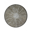 WHITE SLICE wooden tray, XL