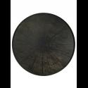 BLACK SLICE wooden tray, XL