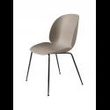 BEETLE stolička, conic base black/new beige