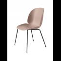 BEETLE stolička, conic base black/sweet pink