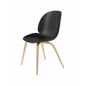BEETLE stolička, wood base, oak/black