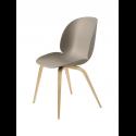 BEETLE stolička, wood base, oak/new beige