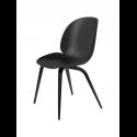 BEETLE stolička, wood base, black/black