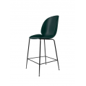 BEETLE counter chair, black/dark green